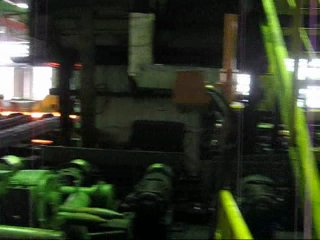 Работа прокатного стана ТПА-80