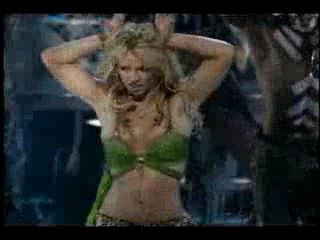 Britney Spears - I'm a slave 4 u (MTV Video Music Awards 2001)