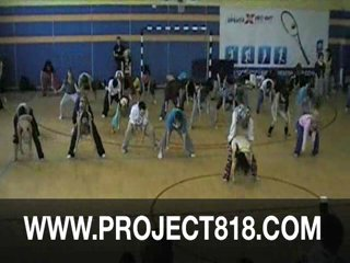 Project818 Andre Fuentes мастер классы Jazz Джаз Rihanna Fire Bomb GROUP 03 SAKURA