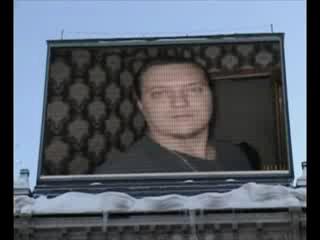 Взлом рекламной панели в Питере