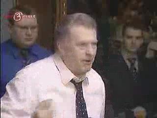 как Жириновский по морде получил (драка в думе 30 марта 2005)