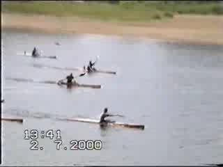 Первенство псковской области по гребле на байдарках 1-2 июля 2000 г.