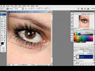 Урок Как правильно нанести макияж в фотошопе