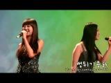 거부 (Big Mama Cover) at MBC Icon (101226) (Hyorin Focus)