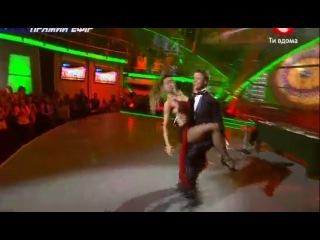 Танго Анжела и Женя Танцуют все 3 Восьмой прямой эфир