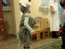 Дет.сад Игра в снежки с Дедом Морозом :-))