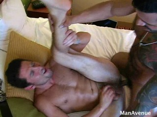 [ManAvenue] Belt Fuck (Alexsander Freitas & Ari Silvio)