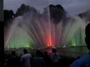 Цветные фонтаны в Гамбурге
