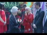 Lady Gaga meets the Queen At Royal Variety Performance