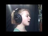 Маленькая 9ти летняя девочка поёт как Кристина Агилера
