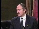 Лукашенко на телевидении Беларуси про белорусские же СМИ (год 1994)