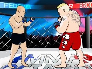 Фёдор Емельяненко и Брок Леснар (UFS VS M-1) mma