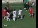 Бійка по чоловічому в жіночому футболі