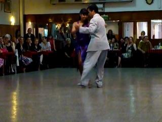 Roxana Suarez & Sebastian Achaval en La Baldosa -