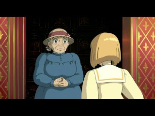 Японский мультфильм: Ходячий замок Хаула.