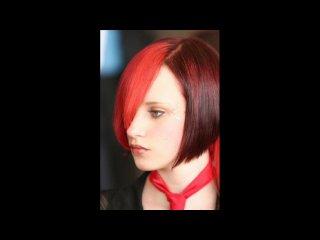 Стрижки и прически из парикмахерских конкурсов
