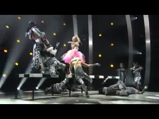 Top 6 with all stars choreographed by Mia Michaels