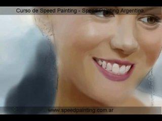 Speed Painting Jlorka - Kate Beckinsale Portrait - Extreme Photorealism