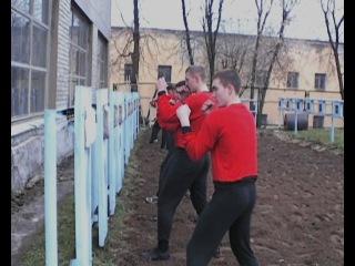 Кафедва ФП и Спорта 2010. ВА ВКО. Фильм про утреннюю зарядку.
