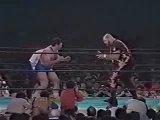 Салман Хасимиков против Бэм Бэма Бигелоу (NJPW, 1988 г.)