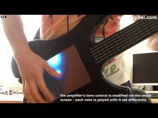 Сенсорная электрогитара 21-го века
