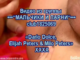Bel ami - dario dolce, elijah peters & milo peters (ххх!!!)