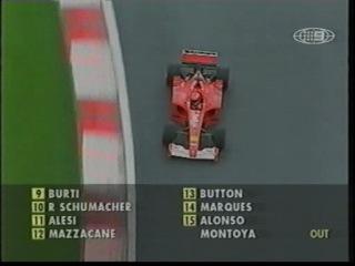 F1 2001. 02. Гран-При (ГП GP) Малайзии, гонка