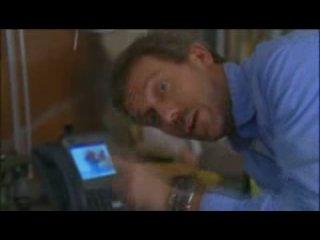Доктор Хаус.Как снимали.Прикольное на площадке.
