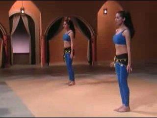 Танец живота. Фитнесс для начинающих (Вина и Нина) - Урок 2