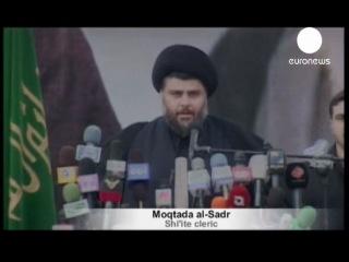 """Муктада ас-Садр призвал к """"мирному"""" сопротивлению США   euronews, мир"""