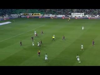 Кубок Испании 2010-2011 / 1/4 финала / Ответный матч / Бетис - Барселона  2 тайм