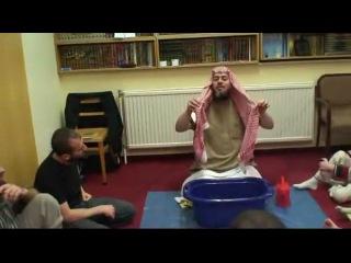 Малое омовение (вуду) по Сунне. по книге - шейха Мухаммад Насыруддин аль-Албани.