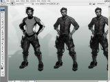 Gnomon (Barontieri). Character Design Pipeline 2