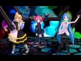 Vocaloid Hatsune Miku, Kagamine Rin, Kasane Teto