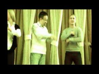 И.Е.Чибисов и А.А. Гладилин танцуют тектоник