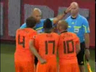 Финал ЧМ 2010 по футболу Нидерланды - Испания (0:1) обзор матча.