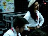 Inna на radio ZU исполняет румынскую песню