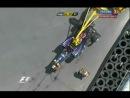 Формула 1 Гран-при Валенсии авария М.Уэббера 27.06.2010 - 16ч. 12м.