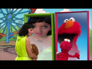 Katy Perry sings Hot N Cold with Elmo on Sesame Street!