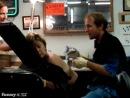 Самый худший клиент татуировщика(куда ты пришла - тупая пизда