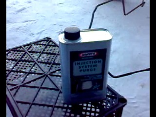 Джиксер. Промывка инжектора WYNN'S-ом.