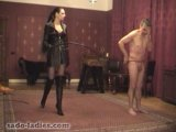 Corporal Caning &amp Whipping Femdom - Madame Catarina - Jail Bird Series Part 02