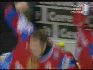Финал ЧМ-2009 по хоккею: Россия - Канада 2:1