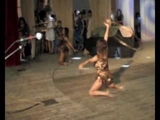 Мое выступление. Танец Амазонки.