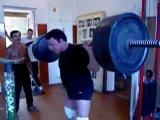 Кашпировский в 70 лет со штангой в 180 кг.
