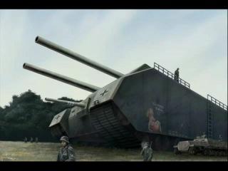 Сверхтяжёлый немецкий танк Крыса