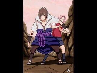 Саске и Сакура или их любовь