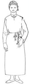 ۩۞۩ Новгородский костюм и быт 9-12 в.в. ۩۞۩