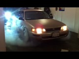 my toyota corolla burn out
