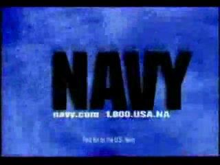 Японская и Американская реклама службы по контракту на флоте.